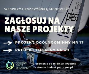 Zagłosuj na nasze projekty! – Pszczyński Budżet Obywatelski